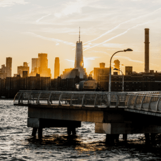 greenpoint waterfront ferryservice to nyc at two blue slip apartments