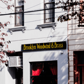 brooklyn woodwind and brass store near two blue slip greenpoint