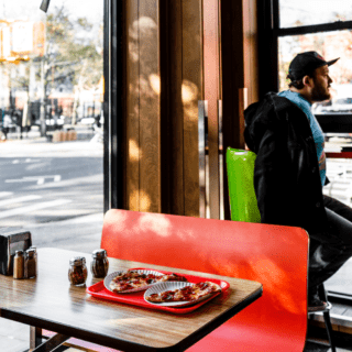 pizza shops near two blue slip apartments in greenpoint landing brooklyn